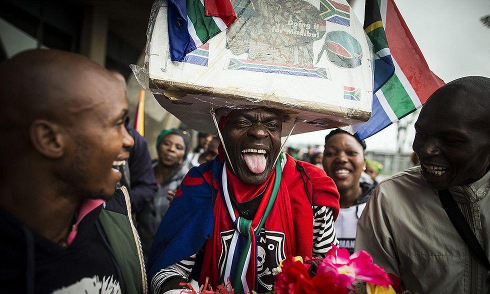 Addio a Nelson Mandela, la cronaca del memorial service a Johannesburg