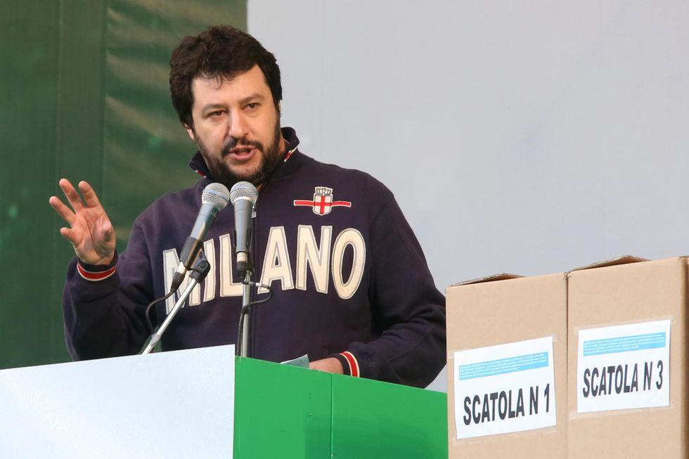 Matteo Salvini, un segretario venuto dal basso