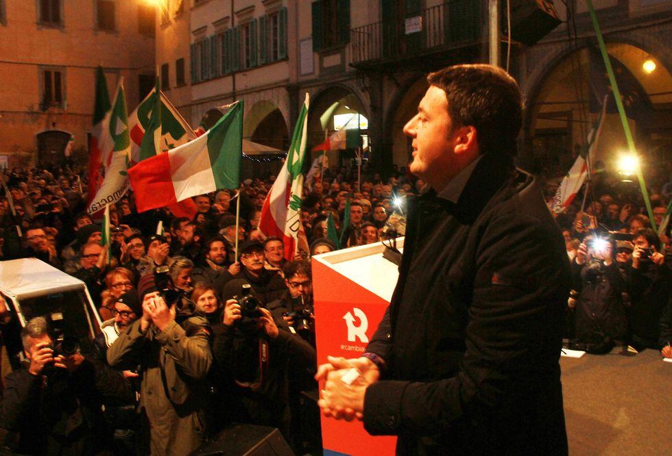 Primarie, la vittoria di Renzi e del Pd