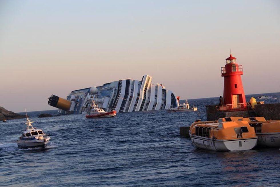 Costa Concordia, cinque anni fa il naufragio