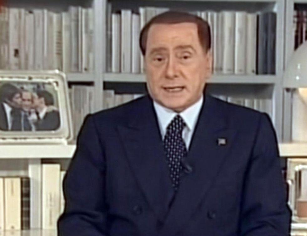 """Berlusconi: """"Nel 2014 vinceremo!"""""""