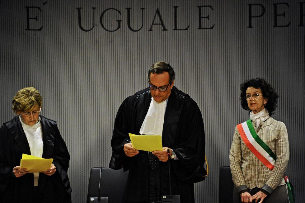 Amanda e Raffaele condannati: la lettura della sentenza