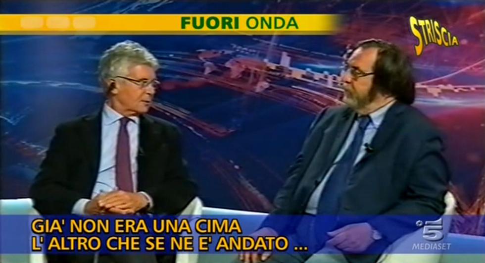 """Martelli (fuorionda): """"Il pm Di Matteo è uno stupido in malafede"""""""