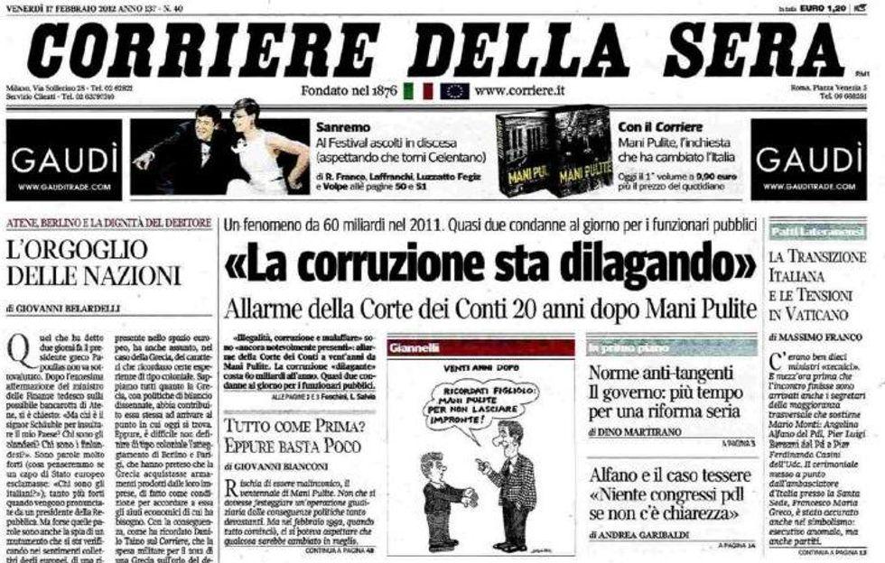 Perché l'Italia è uno dei Paesi più corrotti del mondo