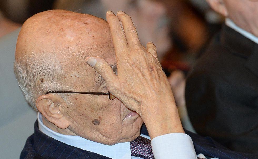 """Napolitano: """"Nessun complotto. E' solo fumo"""""""