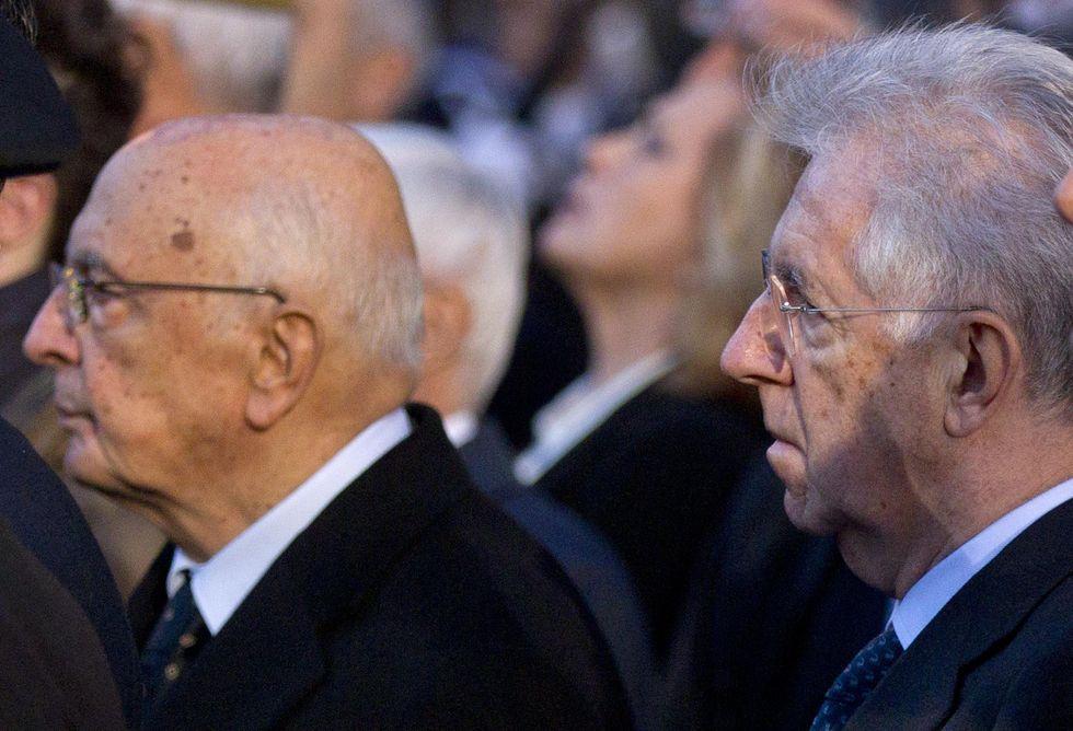 Il caso Napolitano-Monti favorisce Renzi e Prodi
