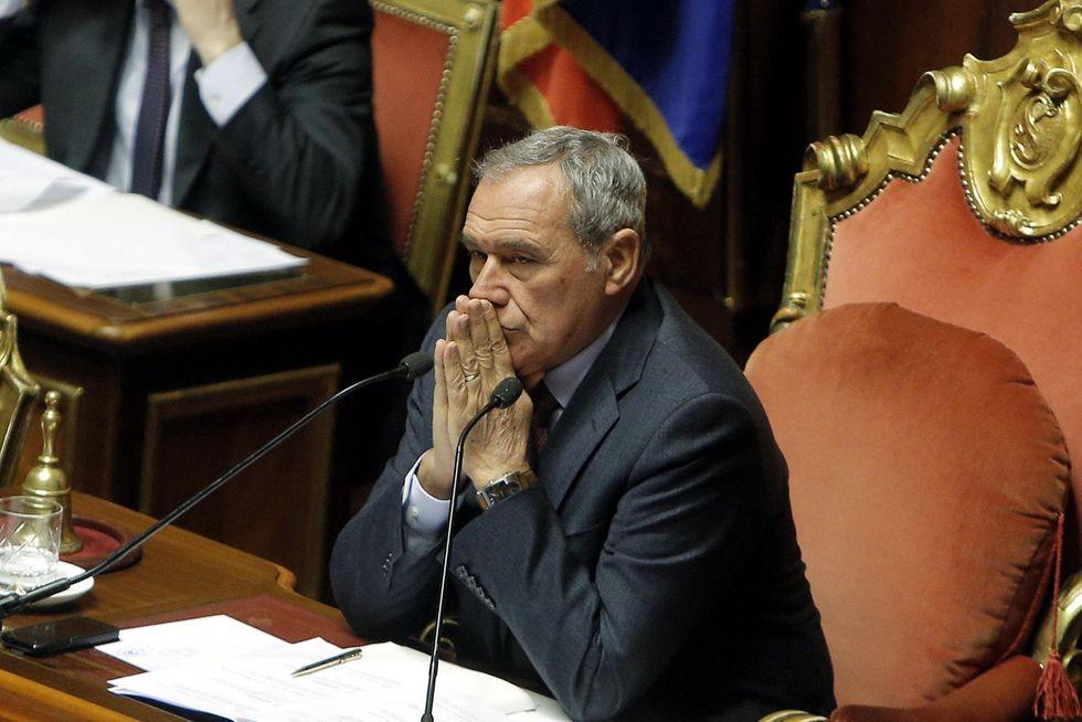 Pietro Grasso non è il Senato