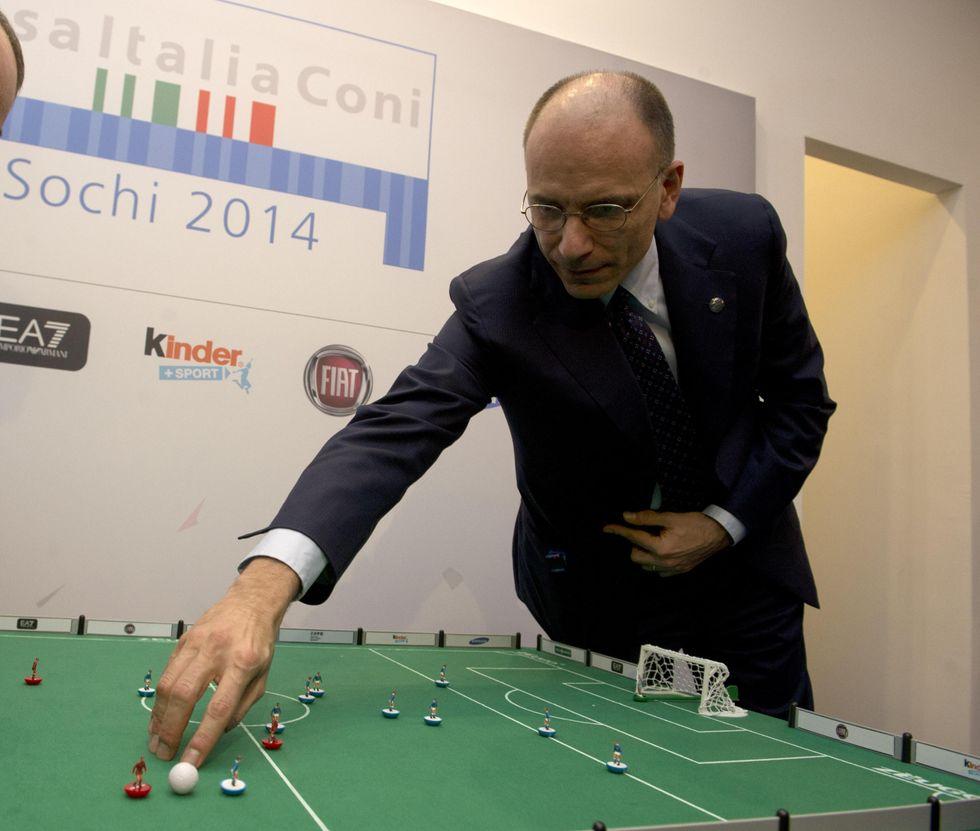 Enrico Letta, tassatore e conservatore