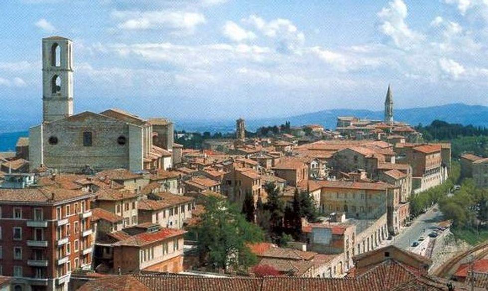 Perugia, una città che assomiglia tanto a Gotham city