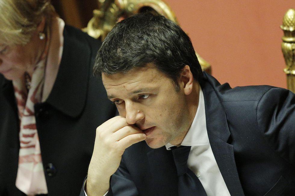 Il discorso vuoto di Renzi, da Renzi