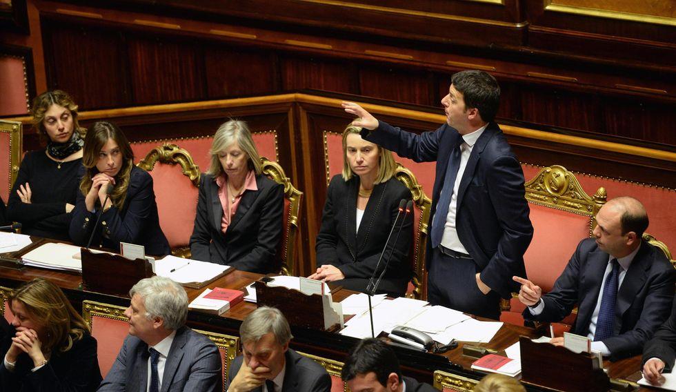 Renzi, fiducia al Senato a quota 169