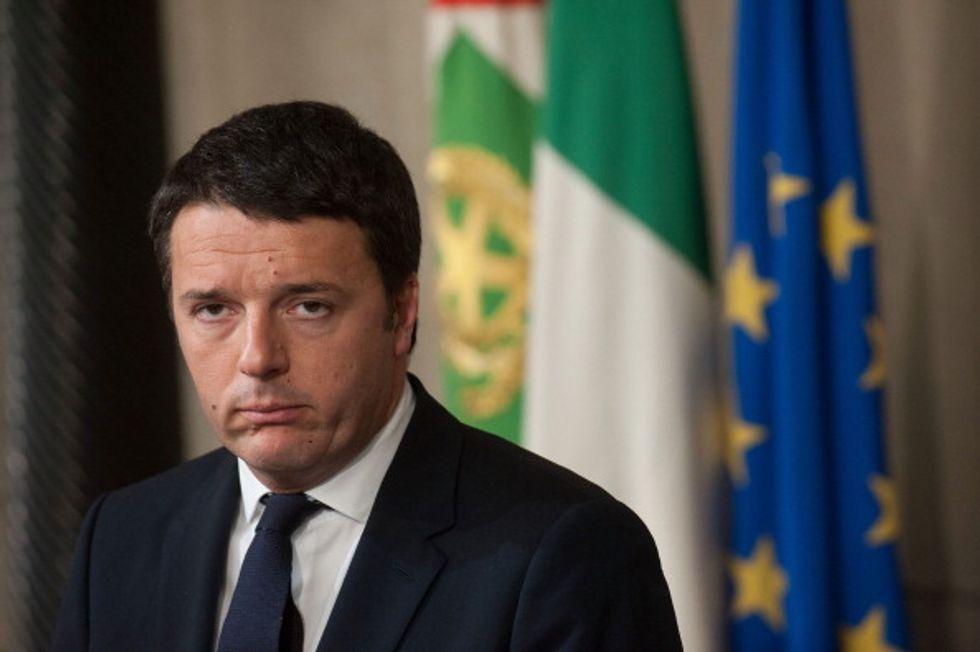 Governo Renzi sull'orlo di una crisi di nervi (di Alfano)