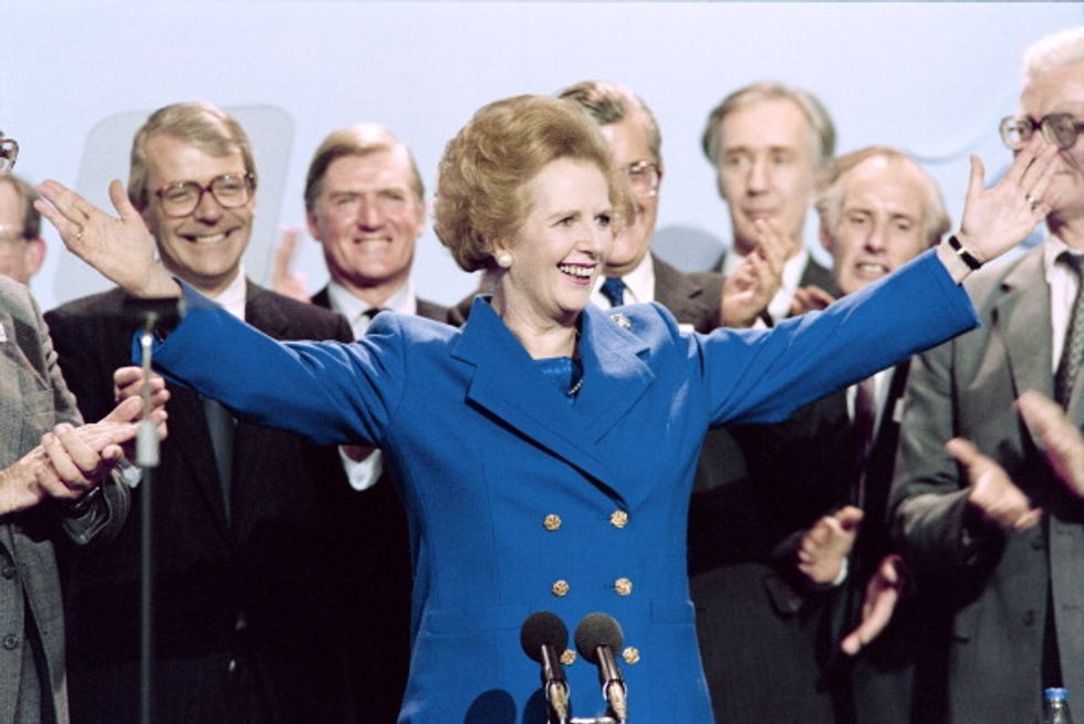 Caro Renzi, faccia come la Thatcher