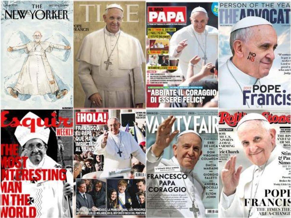 Sorpresa, Francesco fa vendere i giornali