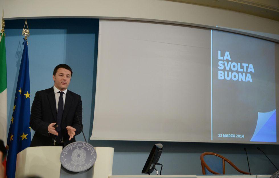 Renzi, tra trucchi e realtà