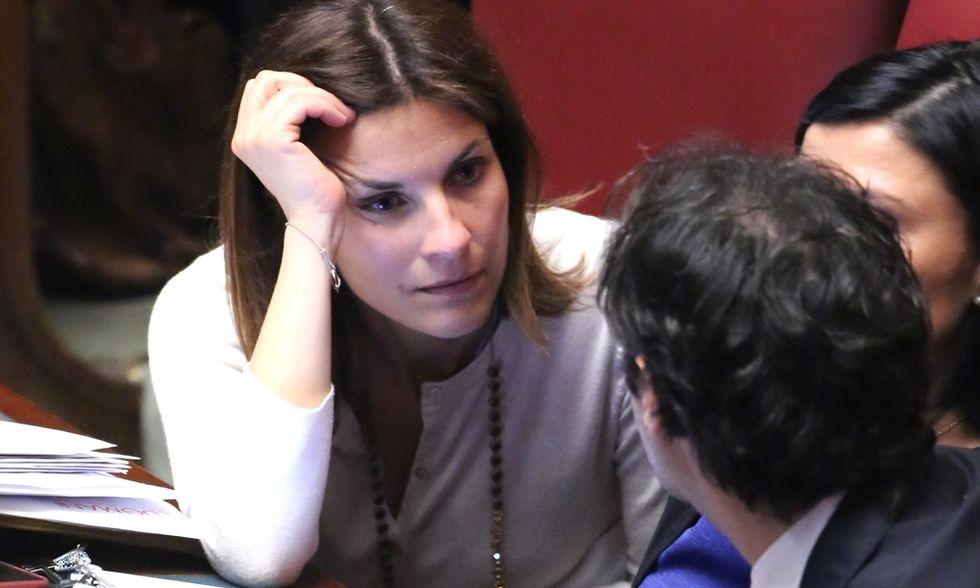 """Alessandra Moretti: """"Magari ci fossero uomini veri in Parlamento, io vedo soltanto maschi"""""""