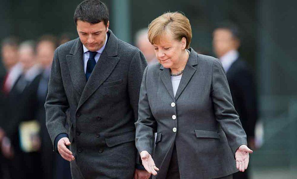 Merkel, Renzi e i compiti a casa