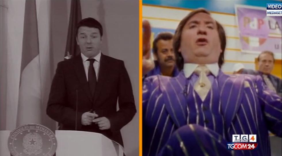 """Renzi come """"Cetto Laqualunque"""""""