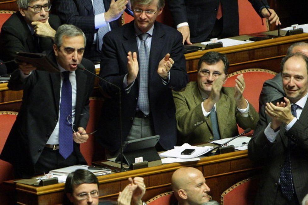 """Gasparri: """"Renzi, niente scherzi o saltano le riforme"""""""