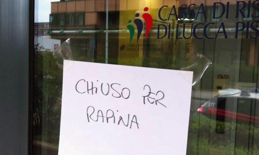Lo strano caso dell'anziana rapinatrice di banca a Prato