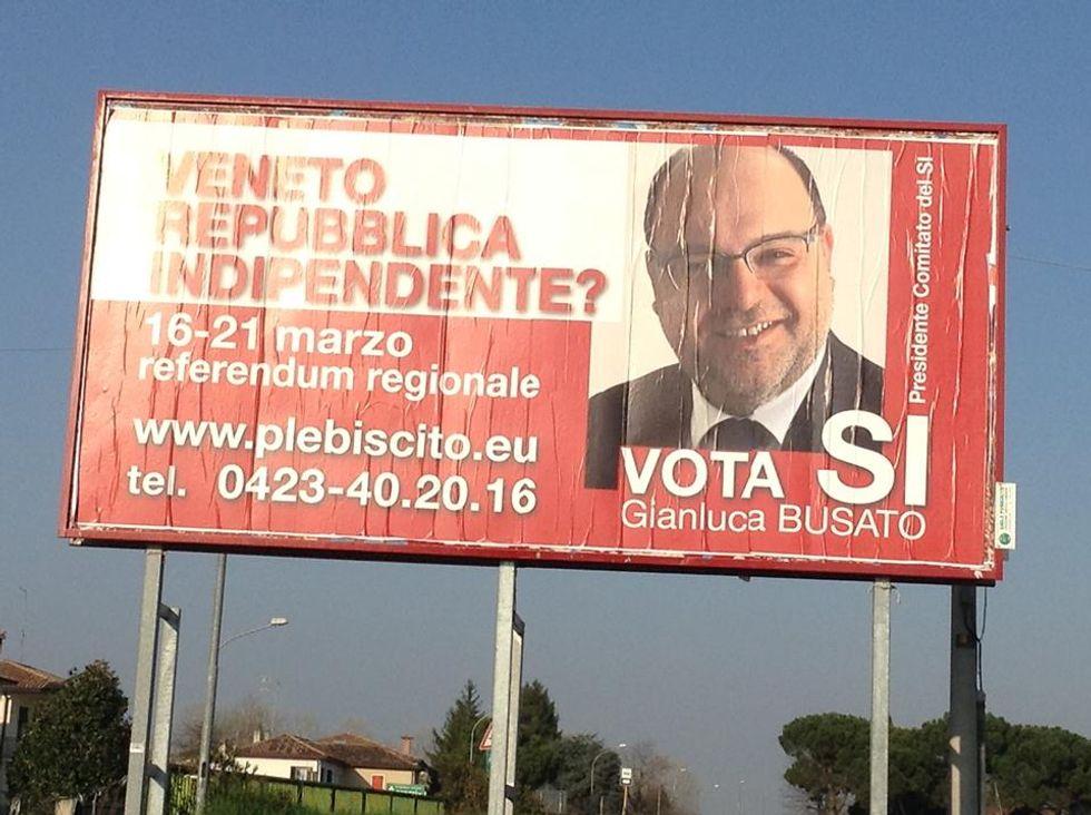 Il Veneto e il referendum per l'indipendenza (come la Crimea)