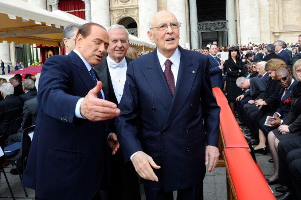 Napolitano gelido sull'odissea giudiziaria di Berlusconi, riforme a rischio