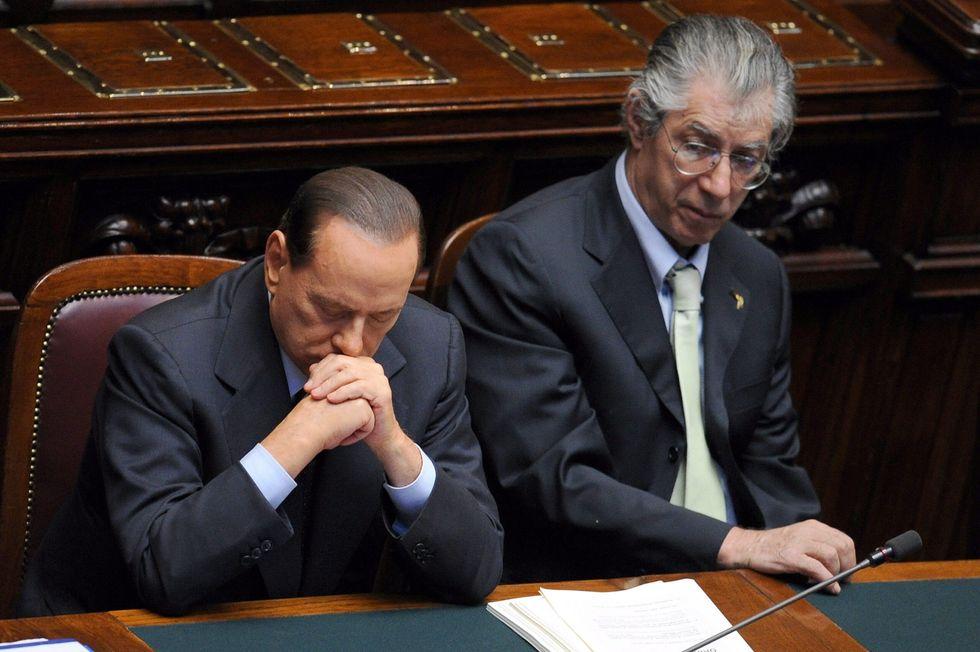 "Bossi: ""Berlusconi è un perseguitato, ma reagirà"""