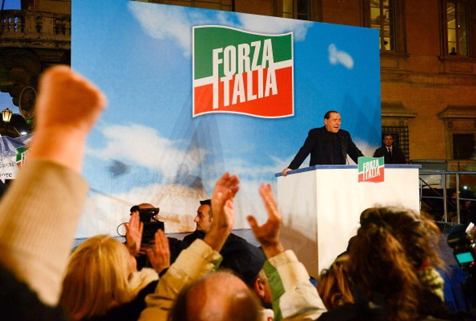 """Berlusconi: """"Vogliamo un'altra Europa"""""""