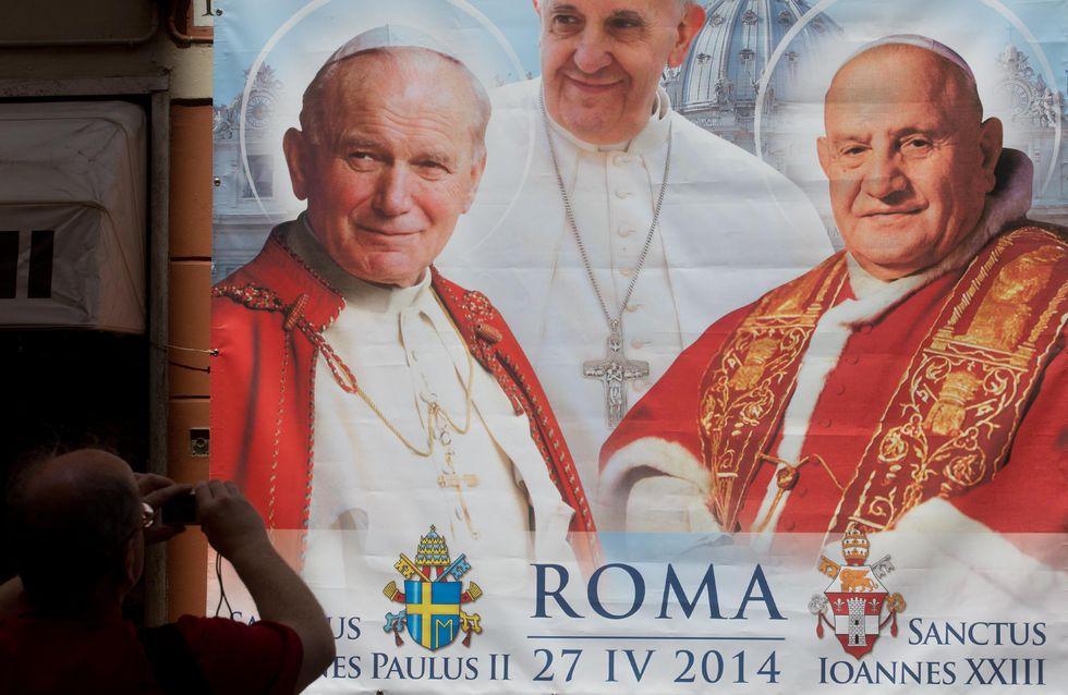 Canonizzazione dei due papi - diretta