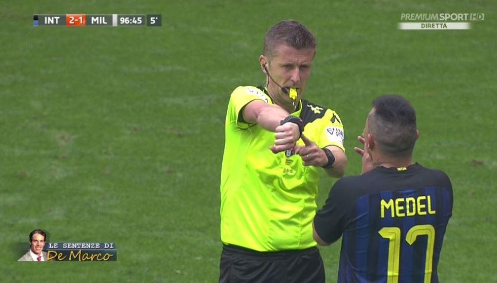 32a giornata, errori arbitrali: Inter-Milan, derby con polemiche contro Orsato