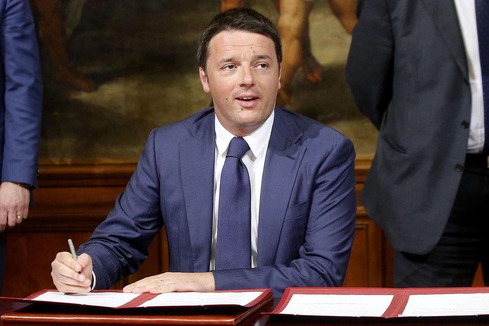 La (ri)presa in giro di Renzi