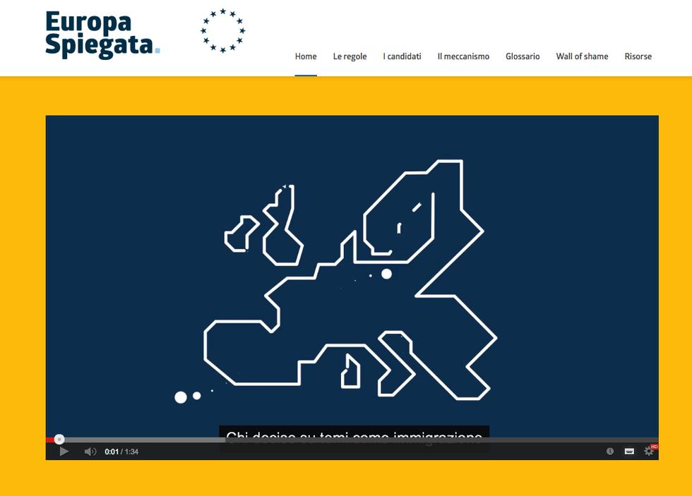 Elezioni: un sito per capire l'appuntamento del 25 maggio