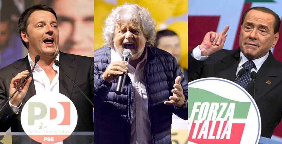 Renzi, Grillo, Berlusconi: ed ora?