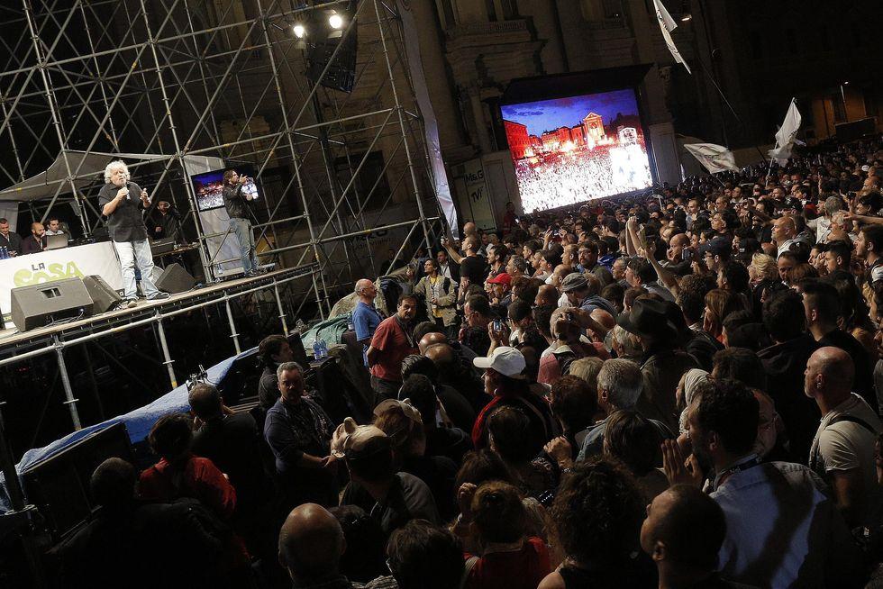 In Piazza San Giovanni con Grillo e la nuova rivoluzione (di sinistra)