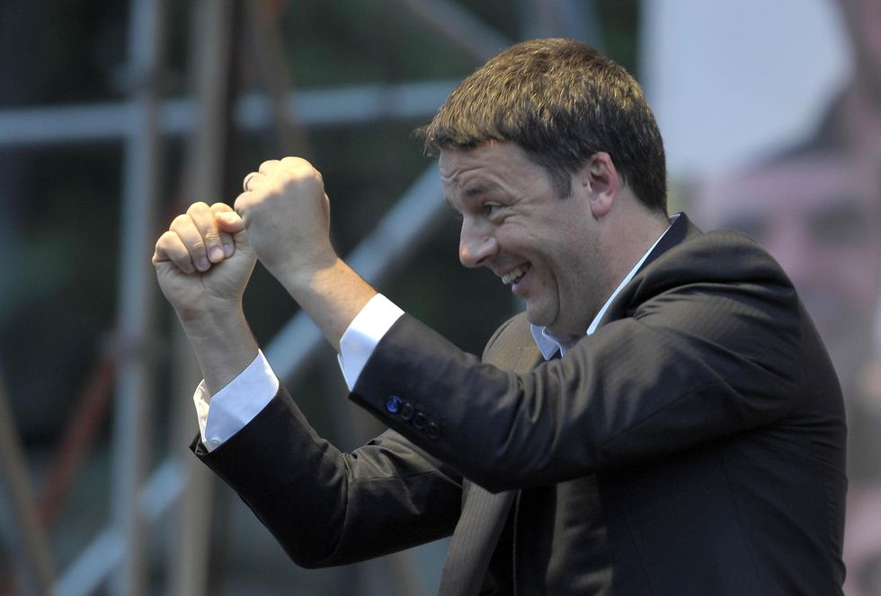 Il trionfo di Renzi a Largo del Nazareno