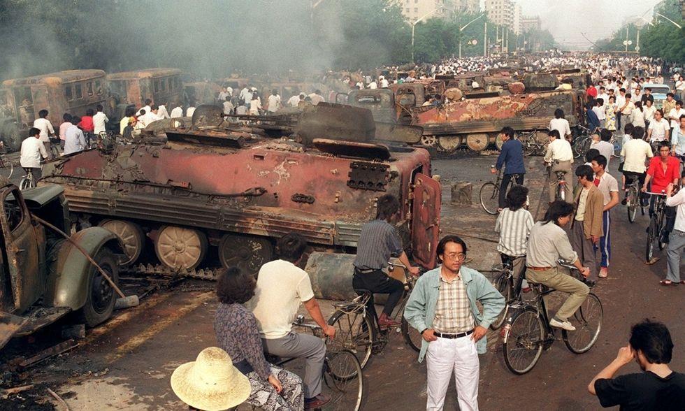 Tienanmen, 25 anni fa