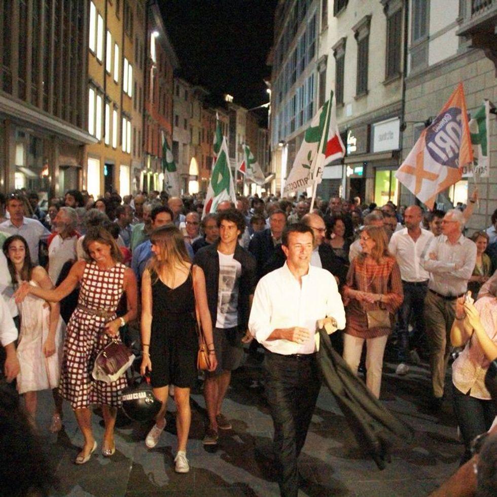 Giorgio Gori e la vittoria della sinistra al caviale