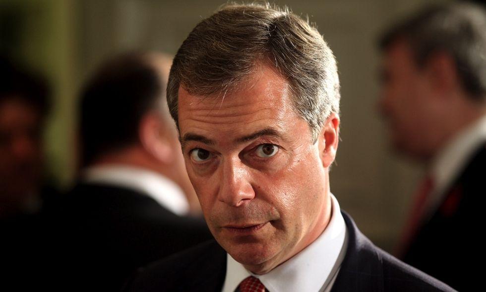 Che cosa faranno da grandi? Nigel Farage, 50 anni