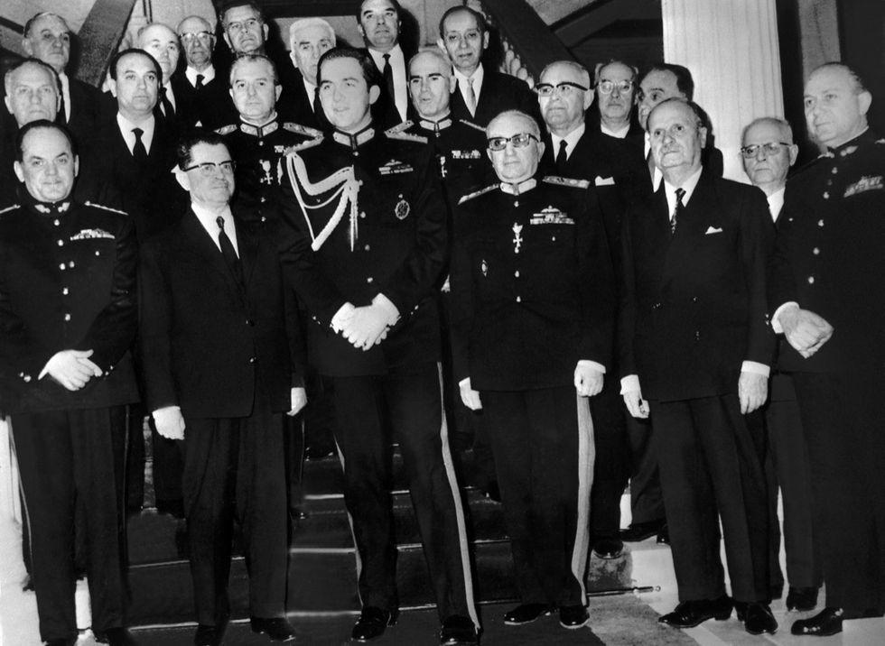 Grecia: 50 anni fa il golpe dei colonnelli - foto