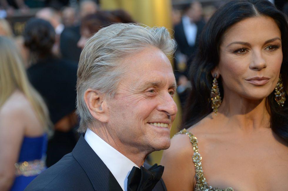 Michael Douglas e Catherine Zeta Jones: nessun divorzio in vista