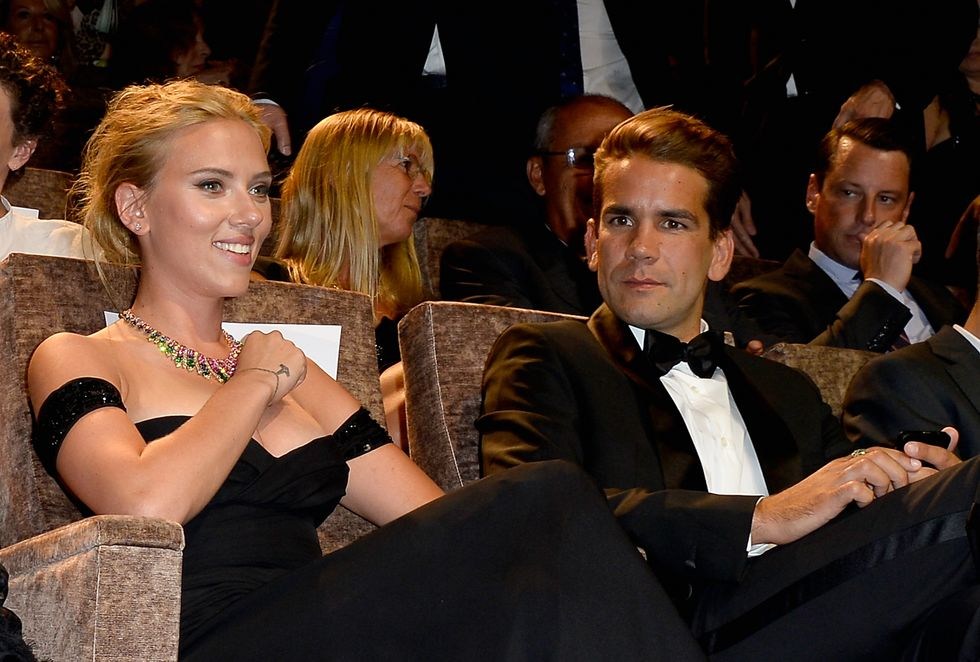 Scarlett Johansson matrimonio a sorpresa con Romain Dauriac