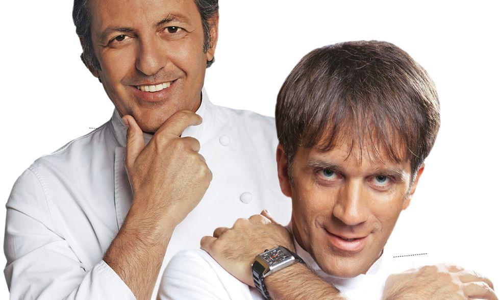 The Chef. La Mantia e Oldani: la nuova guerra delle parannanze tv