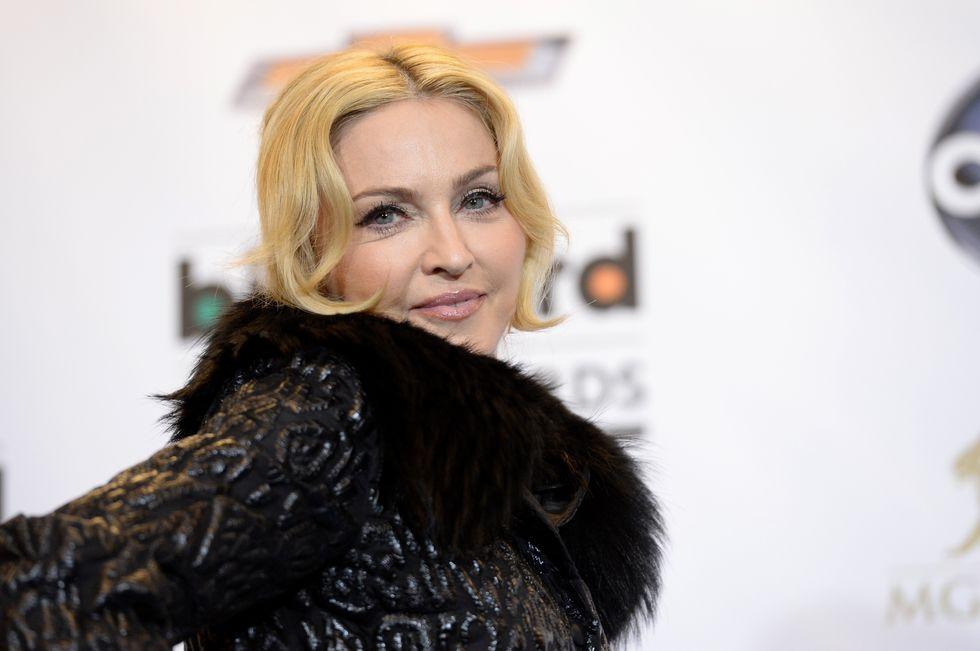 """Madonna: """"Ho sognato di andare a letto con Brad Pitt"""""""