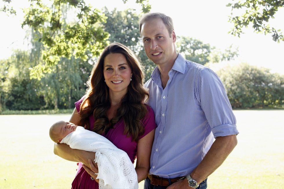 William e Kate, fissata la data del battesimo del principe George