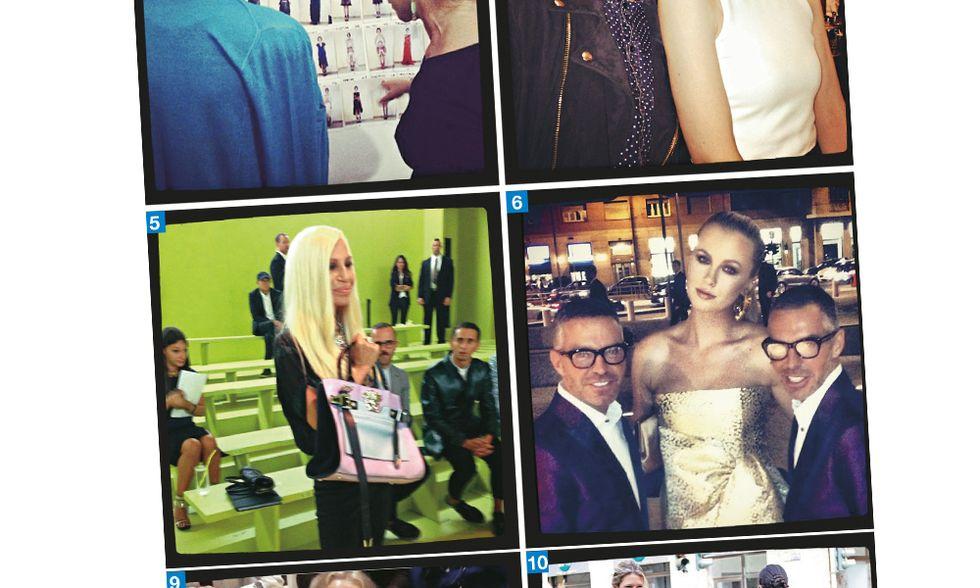 E anche la moda si arrese a Instagram