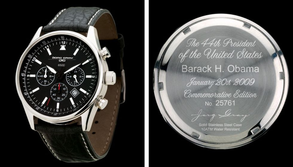 Jorg Gray 6500, l'orologio di Barack Obama