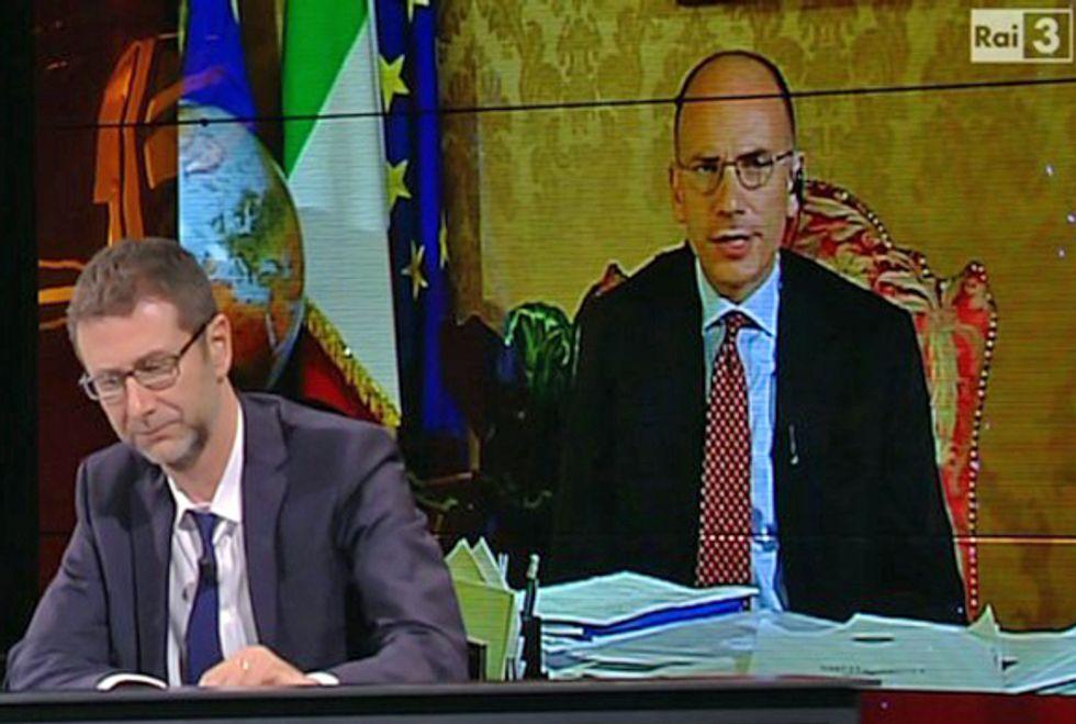 Ascolti 29/09: Fazio vola al 13,20% con Littizzetto e Letta