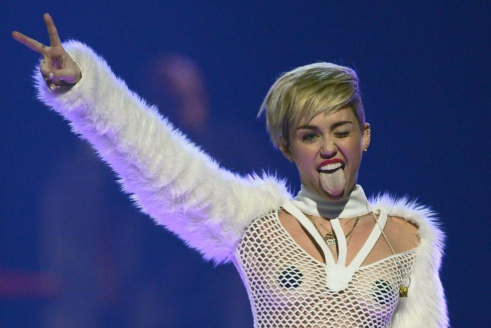 Miley Cyrus, incinta per gossip