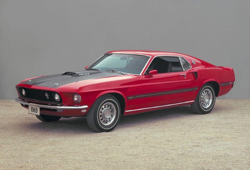 L'auto più amata? La Ford Mustang
