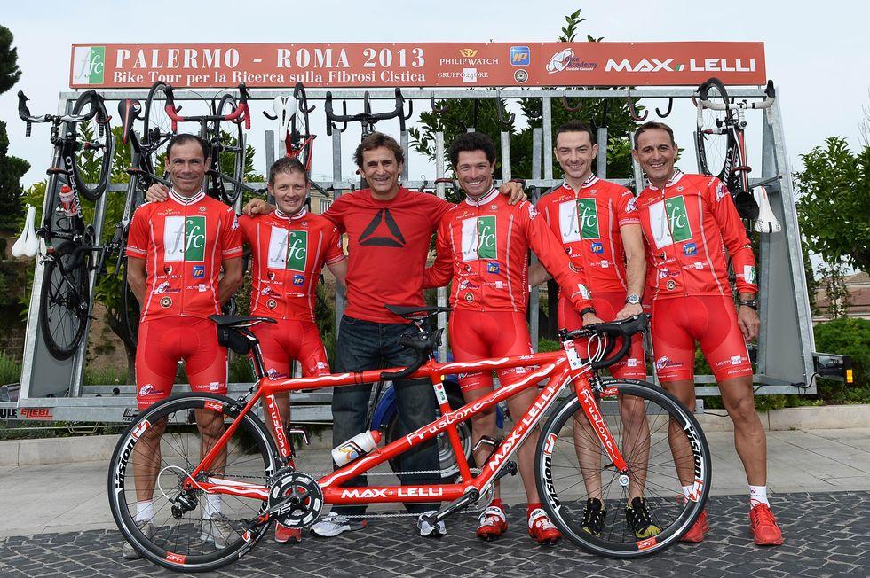 Fibrosi cistica: al via il bike tour d'Italia